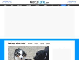 bedford.wickedlocal.com screenshot