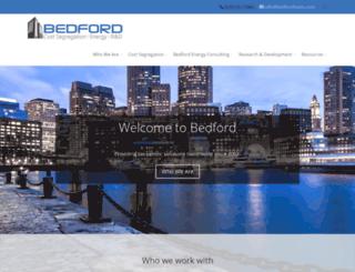 bedfordcostseg.com screenshot