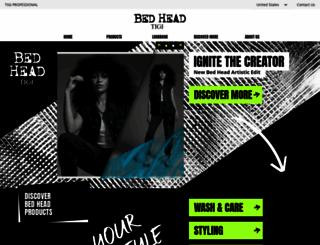 bedhead.com screenshot