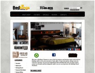 bedkings.com screenshot