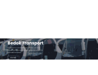 bedoktransport.com screenshot