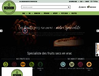 bedouin-fruits-secs.com screenshot