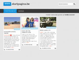 bedrijfsevenementen.startpagina.be screenshot