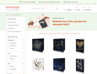 bedrijfskerstkaarten.nl screenshot