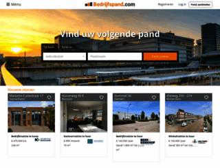 bedrijfspand.com screenshot