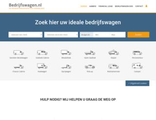 bedrijfswagen.nl screenshot