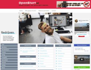 bedrijven.openstart.nl screenshot