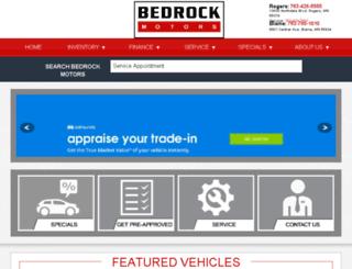 bedrockmotors.com screenshot