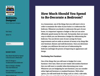 bedroom-design-and-decorating-ideas.com screenshot