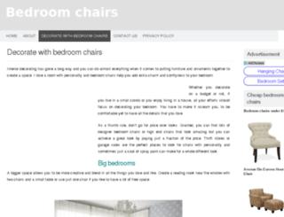 bedroomchairs.org screenshot