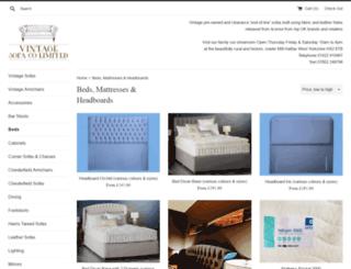 beds2u.co.uk screenshot