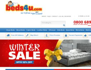 beds4u.com screenshot