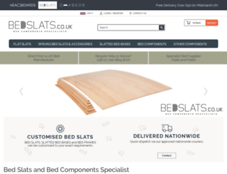 bedslats.co.uk screenshot