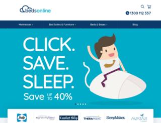 bedsonline.com.au screenshot