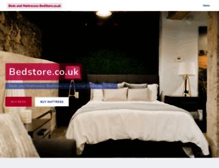bedstore.co.uk screenshot