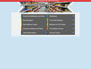 bedsupermarket.com screenshot
