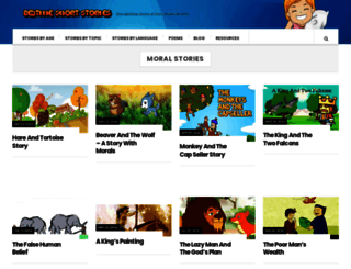 bedtimeshortstories.com screenshot