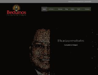 beduinos.mx screenshot