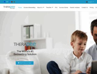 bedwettingtherapy.com screenshot