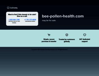 bee-pollen-health.com screenshot