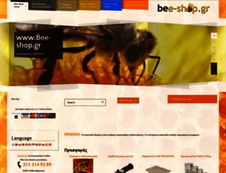 bee-shop.gr screenshot
