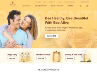 beealive.com screenshot