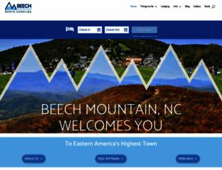 beechmtn.com screenshot