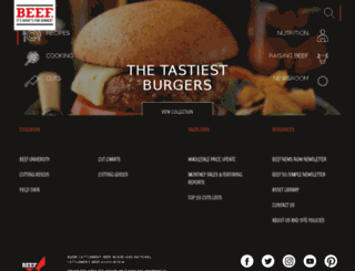 beefandvealculinary.com screenshot