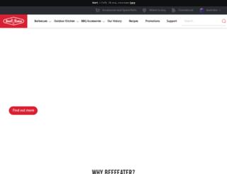 beefeaterbbq.com screenshot