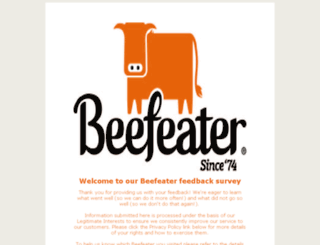 beefeatervisit.co.uk screenshot