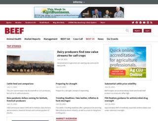 beefmagazine.com screenshot