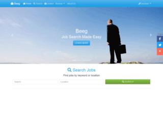 beeg.co.uk screenshot