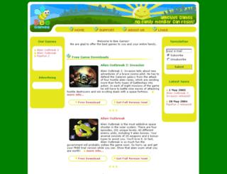 beegames.com screenshot