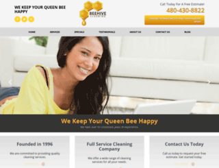 beehive-cleaning.com screenshot