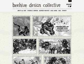 beehivecollective.org screenshot