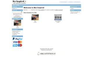 beeinspired.co.uk screenshot