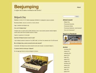beejumping.wordpress.com screenshot