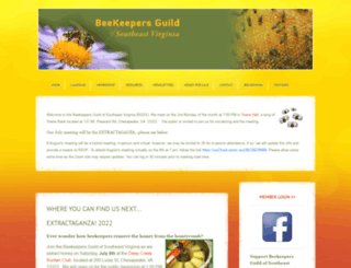 beekeepersguild.org screenshot