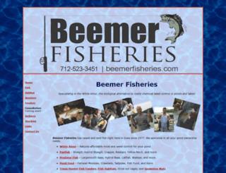 beemerfisheries.com screenshot