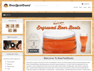 beer-boots.com screenshot