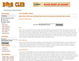 beer-club.info screenshot