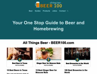 beer100.com screenshot