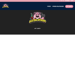 beerbaconbands.ca screenshot