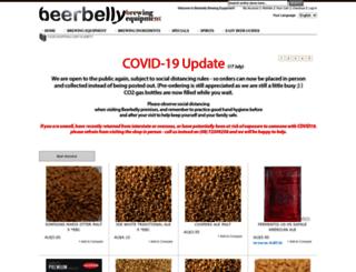beerbelly.com.au screenshot