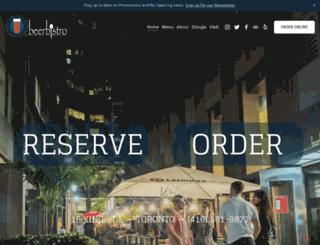 beerbistro.com screenshot