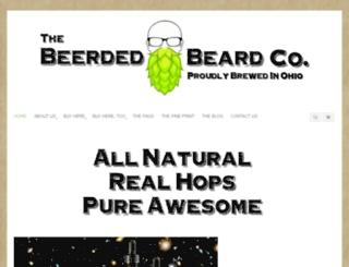 beerdedbeard.com screenshot