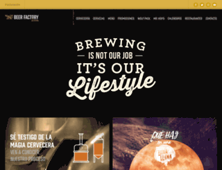 beerfactory.com screenshot