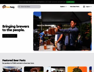beerfests.com screenshot