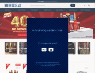 beerhouse.mx screenshot