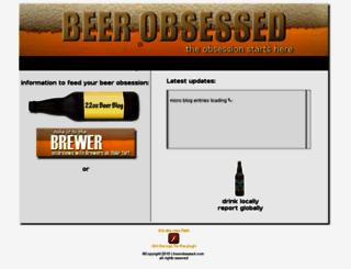 beerobsessed.com screenshot